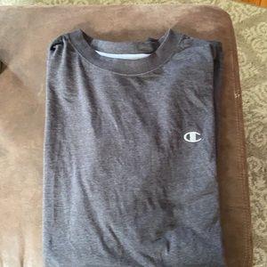 Men's Grey Champion 2XLT T Shirt